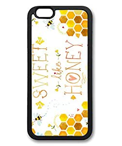 """iPhone 6 Case, iCustomonline You are Sweet Like Honey Case for iPhone 6 (4.7"""") Rubber Black by ruishername"""