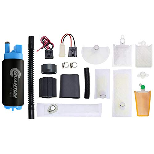 QFS-341FT 340LPH Racing Performance Intank Fuel Pump with Installation Kit ()