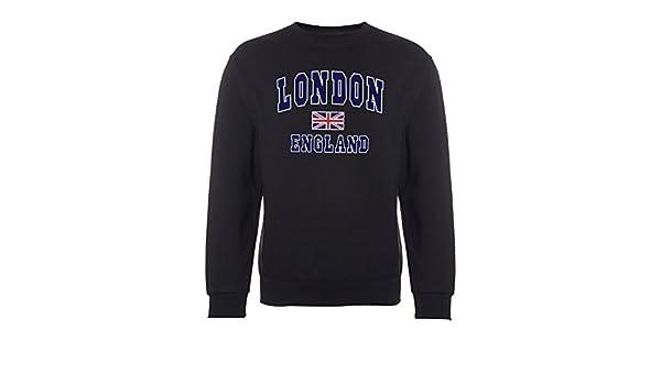 Selección de fútbol de Inglaterra de Londres diseño con Motivos el Sudor-de Manga Corta de Mujer.: Amazon.es: Ropa y accesorios