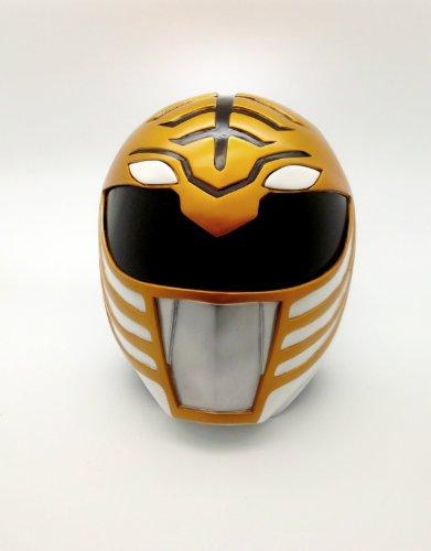 Mighty Morphin White Power Rangers Cosplay Helmet Life (Mighty Morphin Power Rangers Halloween Costumes)