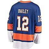Mens Hockey Jersey Blue/Strip S-XXXL(Blue, Small)