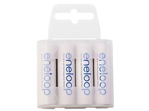 114 opinioni per Eneloop Batteria ricaricabile R03 AAA min. 750mAh box 4 Batterie (R6 AA min.