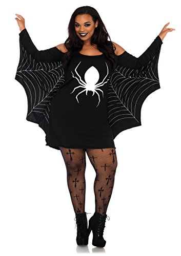 3x Halloween Costume Womens (Leg Avenue Women's Plus, Black, 3X /)