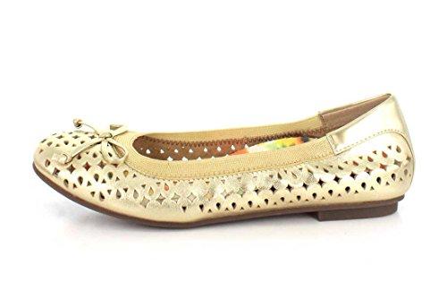 Gull Kvinners 6 Ballet Vionic Størrelse Surin Flat xOTwZq