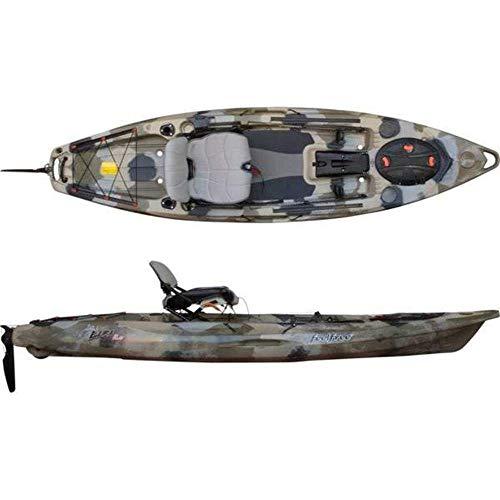 Feel Free Lure 11.5 Kayak w/Sonar and Electronic Pod - Desert Camo