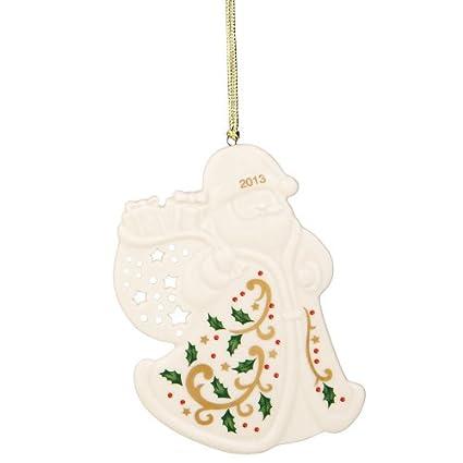 Lenox 2013 Joyous Tidings Santa Ornament - Amazon.com: Lenox 2013 Joyous Tidings Santa Ornament: Home & Kitchen