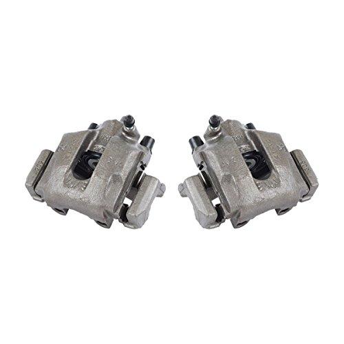 CKOE00411 [ 2 ] REAR Premium Grade OE Semi-Loaded Caliper Assembly Pair Set ()