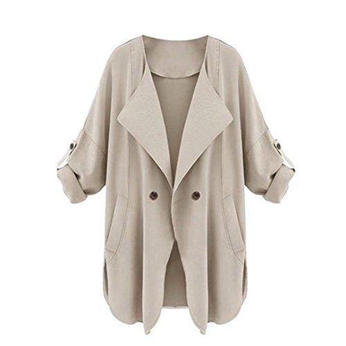 Escudo, abrigo,Internet Chaqueta con capucha de manga larga para mujer, otoño, manga larga Caqui