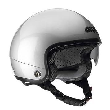 Helmet Casque Jet Givi X05 Silver For Moto Scooter Helmet Size Xs