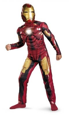 Iron Man Mark VI Classic Muscle Chest Child Costume - - Man Muscle Iron Chest