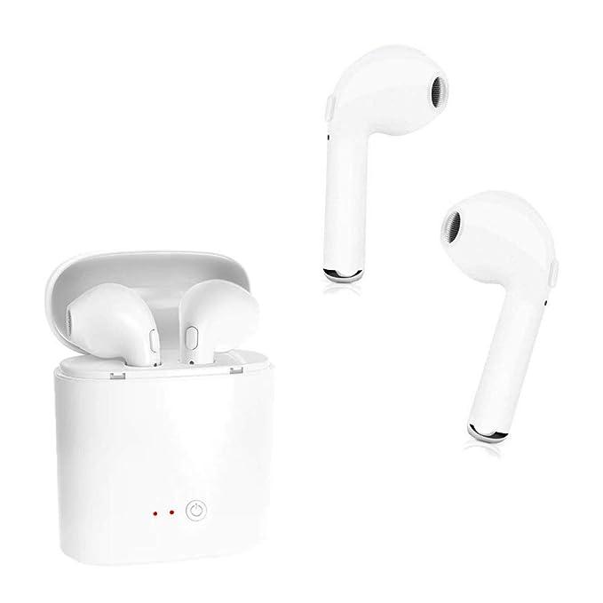bdee55c32f7 Wireless Bluetooth Headphones Wireless Earbuds Mic Mini in-Ear Earphones  Sweatproof Sports Headphone for iPhone
