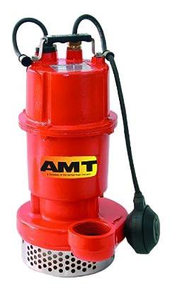 """AMT Pump 5792-95 Submersible Utility Pump, Cast Iron, 1/2 HP, 115V, Curve C, 2"""" NPT Female Discharge Port"""