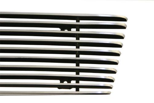 - Carriage Works 44321 Brushed Billet Bolt Over Grille Insert