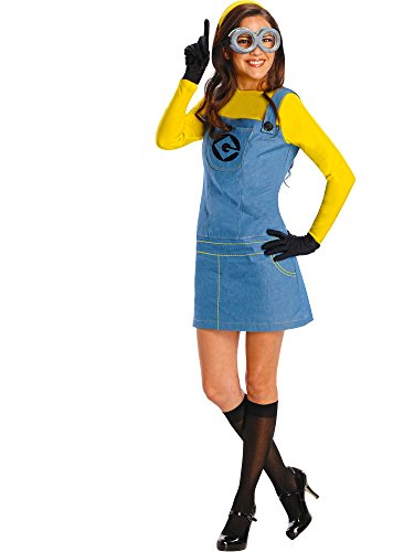 Rubie's Women's Despicable Me 2 Female Minion Costume, Multicolor, Plus -
