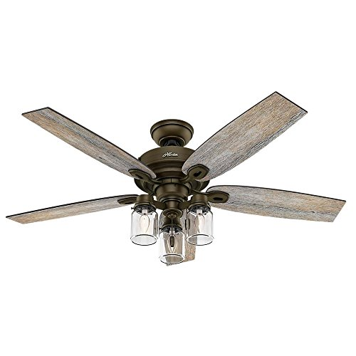 Crown Canyon 52 In  Indoor Regal Bronze Ceiling Fan
