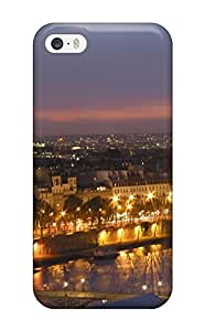 First-class Case Cover For Iphone 5/5s Dual Protection Cover City Of Paris