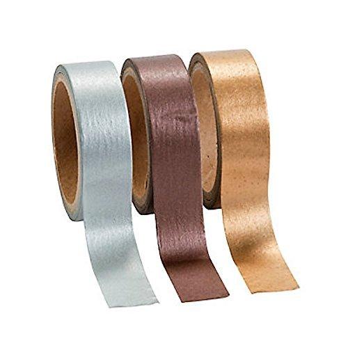 1 ~ Metallic Washi Tape Set