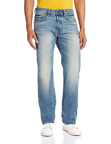 Bleu Homme medium G 7062 Straight Aged 071 Jeans star Raw Attacc pqO7B