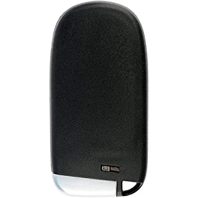 KeylessOption Keyless Remote Start Smart Car Key Fob for Jeep Cherokee 2014-2020, GQ4-54T: Automotive