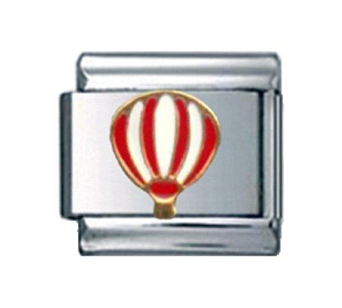 Stylysh Charms Balloon HOT AIR Ballooning Enamel Italian 9mm Link NC088