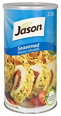 Jason Seasoned Bread Crumbs, 24 Ounces (Pack of 4) by Millbrook Distribution Services Inc.