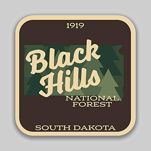 JB Print Magnet Black Hills National Forest Explore Wanderlust Camping Hiking Vinyl Decal Sticker Car Waterproof Car Decal Magnetic Bumper Sticker 5