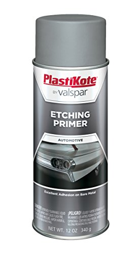 PlastiKote 470 Gray Etching Primer Enamel - 12 Oz.