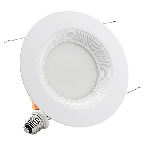 TORCHSTAR 18Watt 5/6-inch Wet Location Dimmable Retrofit LED Recessed Lighting Fixture, Energy Star UL-classified 120W Equivalent Ceiling Light, 5000K Daylight 1200lm Remodel Recessed Downlight
