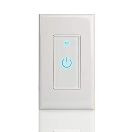 Smart Wi Fi Light Switch Alexa Google Home Ifttt Compatible Ios