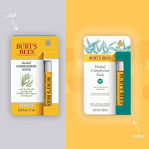 Burt's Bees Herbal Blemish Stick, 0.26 Fluid Ounce (Pack of 2)