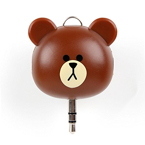 Price comparison product image Novelty Brown Bear 2-Way 3.5 mm Kids Headphone Splitter for the Behringer HPM1000 / HPS3000 / HPS5000 / HPX2000 / HPX4000 / HPX6000 - by DURAGADGET