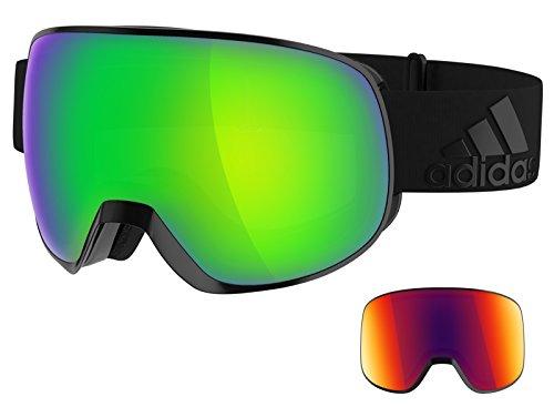 Adidas - PROGRESSOR PRO PACK AD83, Sport générique unisexe MATTE BLACK/SPHERICAL GREEN BLUE MIRROR