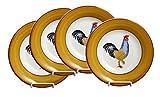 European Gift & Housewares Hens Dinner Bowls, Set of 4
