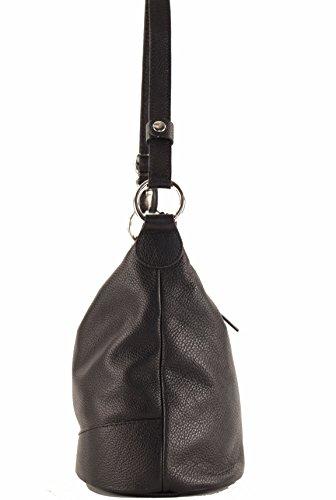 Histoiredaccessoires - Sac pour femme en cuir porté à l'épaule Sa134414gf-floriane, noir
