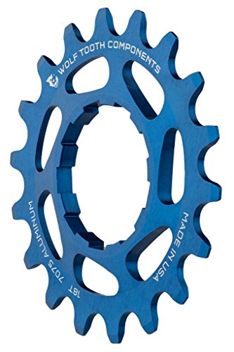 (Wolf Tooth Components Single Speed Aluminum Cog 20T, Fits 3/32