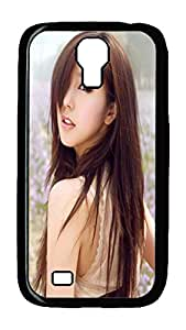 Samsung Galaxy S4 Case,Customize Ultra Slim Looking Back Hard Plastic PC Blcak Case Bumper Cover for S4