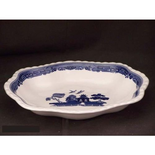 Johnson Brothers Willow Blue Scalloped Dish 2140055130