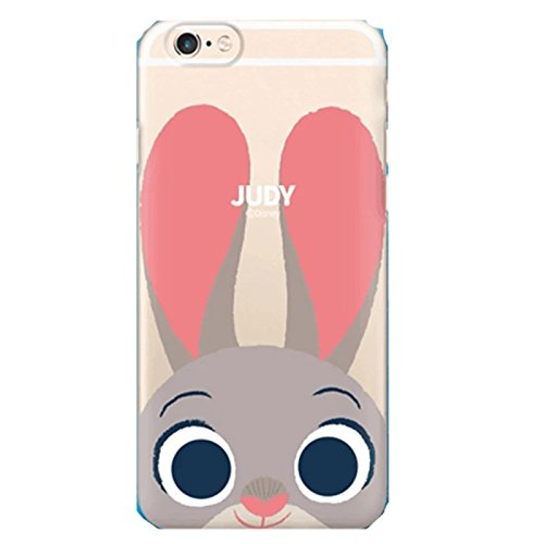 iPhone 6S /6S Plus, iPhone 7/ 7 Plus, New Cute Ultra Slim Case Cover,Despicable Me Minions, Zootopia, Cute 3D Cartoon TPU Silicone Protection Skin Case Cover for iPhone