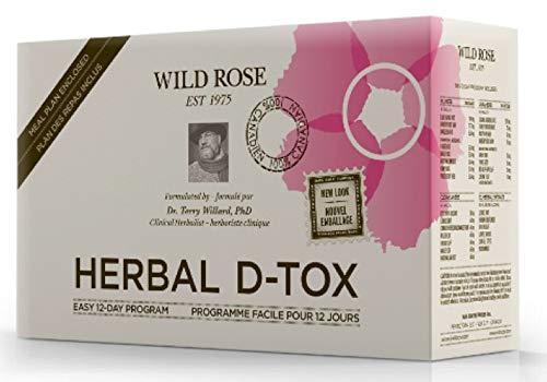 Herbal Detox Kit - Wild Rose Herbal D-Tox Pragram 1 Box
