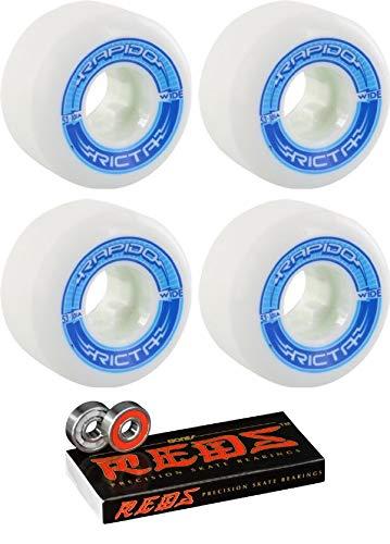 本物品質の Ricta - 53mm ボーン Wheels Rapido ワイドホワイト/ブルー スケートボードホイール ボーンベアリング付き - - 8mm ボーン レッド 精密スケートボードベアリング - 2個セット B07HRJXWGD, フジバンビ:33ba6ad5 --- mvd.ee