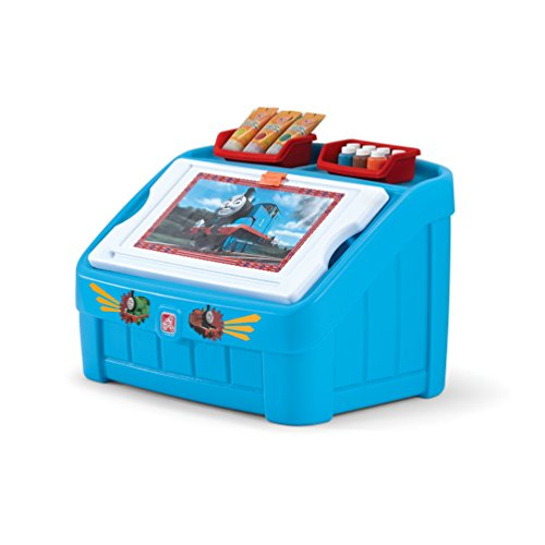 Step2 Thomas The Tank Engine 2-in-1 Toy Box and Art Lid (Little Tikes Toy Chest)
