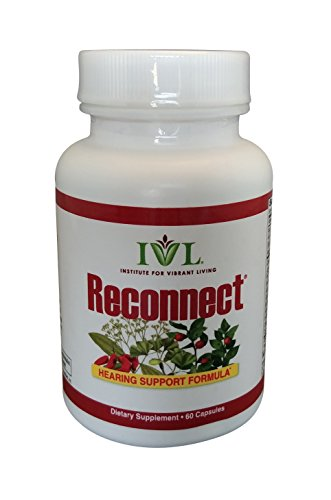 IVL – Reconnect All-Natural Hearing Formula, 60 capsules (pack of 6) by Institute for Vibrant Living