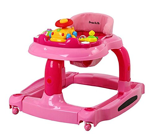Dream On Me 2 in 1 Baby Tunes Musical Activity Walker and Ro