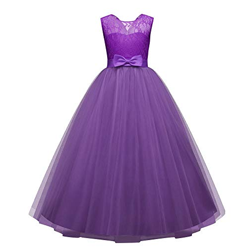 Zohto Baby Girl Clothes, Sale:April Fools' Day Children Girls Bowknot Backless Formal Princess Zip Net Yarn Party Dress -