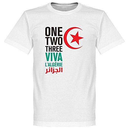 Viva l''Algerie T-shirt - weiß