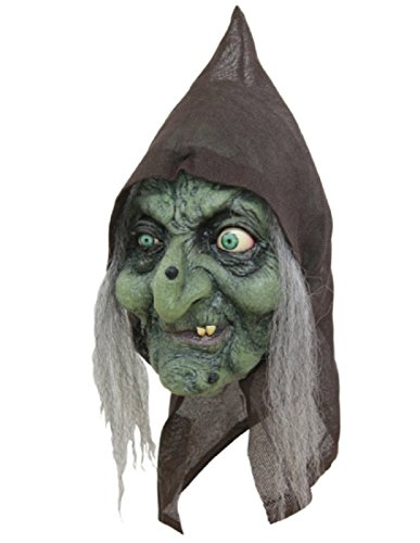 Hag Mask - Bruja the Old Hag Witch Mask