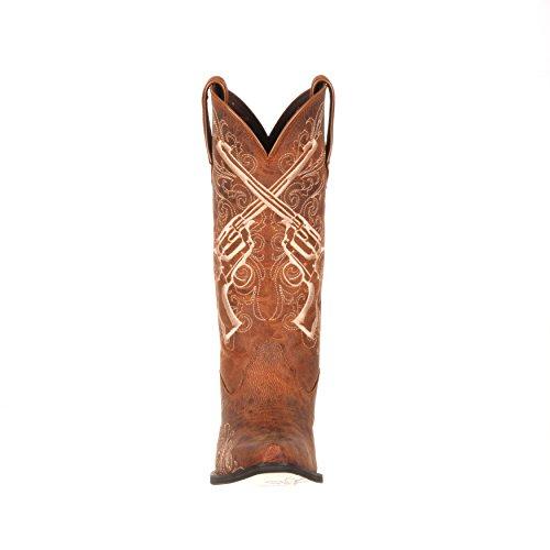 Durango Écrasement Par Les Femmes 12 Fusils Croisés Western Boot-drd0099