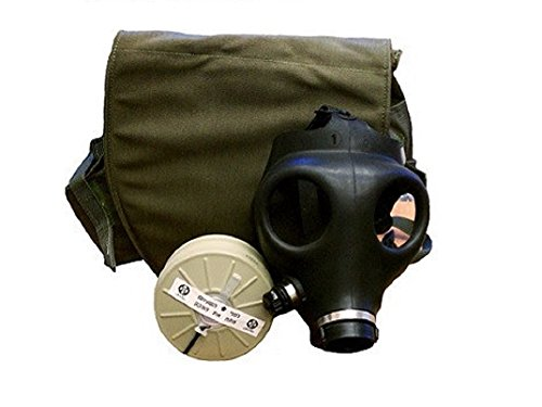 Men Costume Israeli (Gas Mask w/ Filter and Drop Leg)
