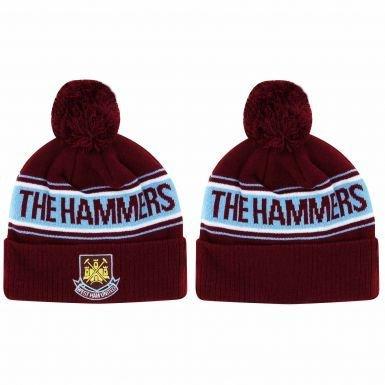 West Ham United Crest Ski Hat