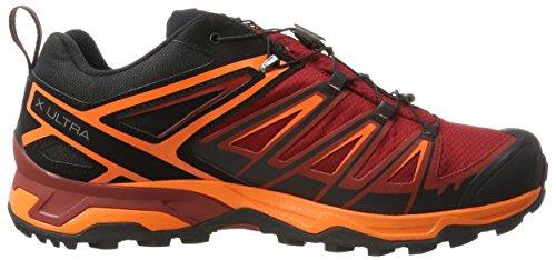 Black GTX Dalhia Ultra Scarlet amp; Herren Salomon Red Trekking 000 Ibis 3 Schwarz Wanderhalbschuhe xtAw8CqSnv